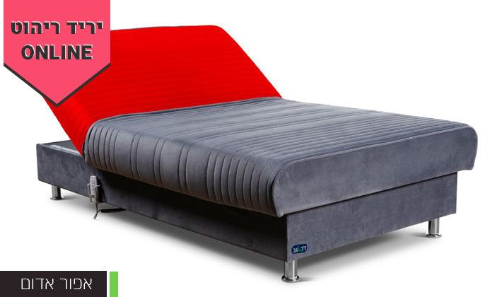 5 מיטת נוער מתכווננת חשמלית ברוחב וחצי דגם PLAY