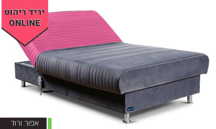 8 מיטת נוער מתכווננת חשמלית ברוחב וחצי דגם PLAY