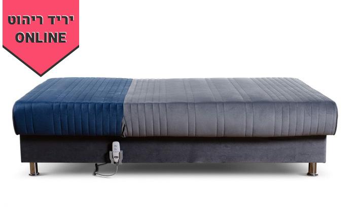 9 מיטת נוער מתכווננת חשמלית ברוחב וחצי דגם PLAY