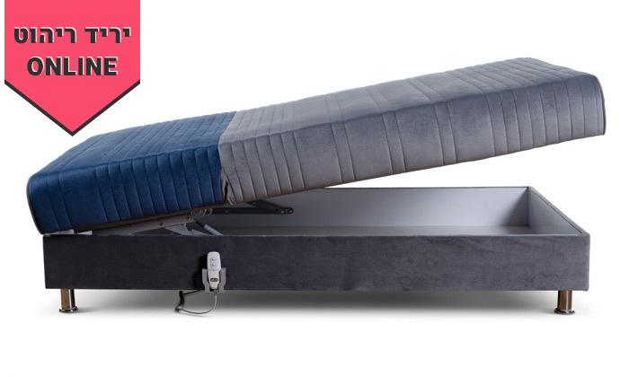 10 מיטת נוער מתכווננת חשמלית ברוחב וחצי דגם PLAY