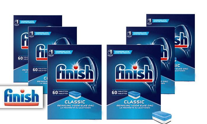 2 מארז 360 טבליות פיניש Finish קלאסיק למדיח הכלים