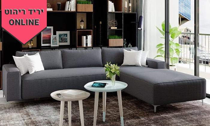 2 ספה פינתית House Design דגם הוליווד - צבעים לבחירה