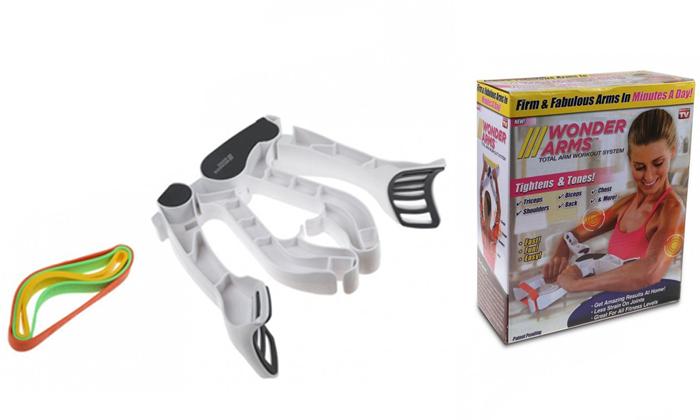 2 מכשיר לחיזוק ולחיטוב הזרועותWonder Arms