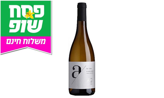 3 מארז 6 בקבוקי יין אדיר A לבן במשלוח חינם מרשת שר המשקאות