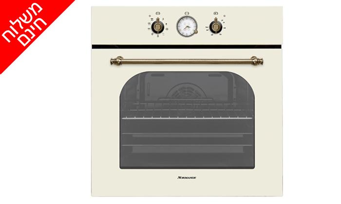 2 תנור אפיה בנוי 7 תוכניות 65 ליטר Normande דגם NR-6520c