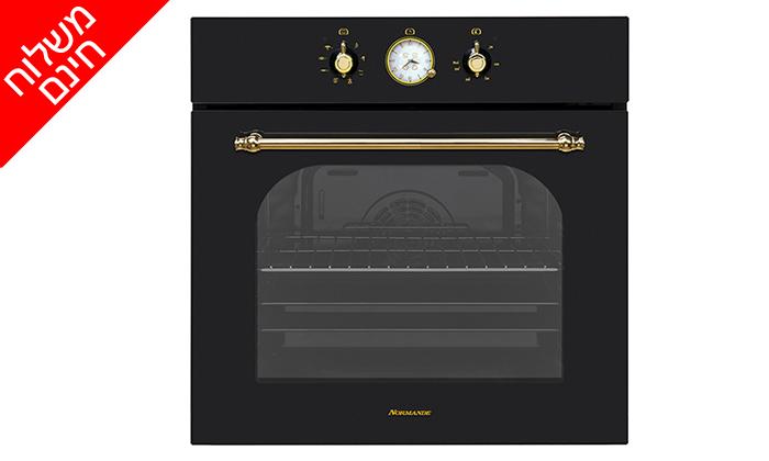 4 תנור אפיה בנוי 7 תוכניות 65 ליטר Normande דגם NR-6510