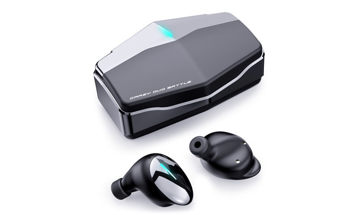 2 אוזניות גיימינג אלחוטיות iWalk דגם Crazy Duo Battle
