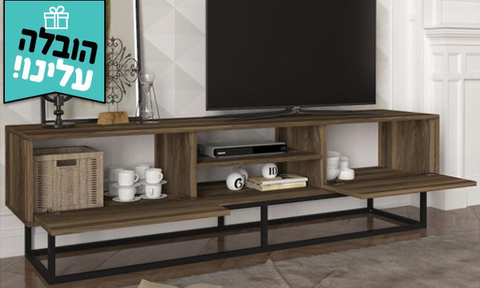 3 מזנון טלוויזיה באורך 1.8 מטר - משלוח חינם