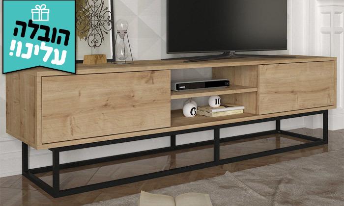 9 מזנון טלוויזיה באורך 1.8 מטר - משלוח חינם