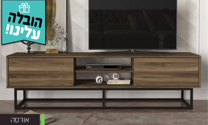 5 מזנון טלוויזיה באורך 1.8 מטר - משלוח חינם