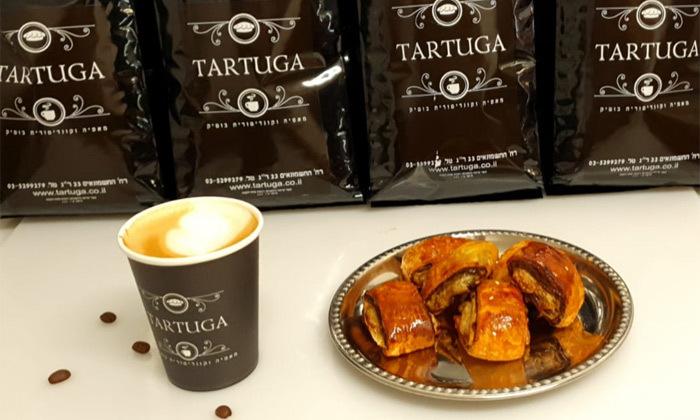 3 קפה ומאפה ממאפיית TARTUGA, רמת גן