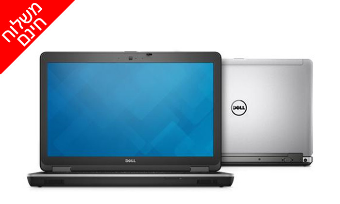 """3 מחשב נייד DELL דגם E6540 מסדרת Latitude עם מסך """"15.6, זיכרון 8GB ומעבד i5 - משלוח חינם"""