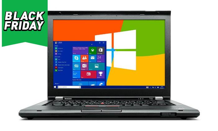 """5 מחשב נייד מחודש Lenovo דגםT430מסדרתThinkPad עם מסך """"14, זיכרון 12GB ומעבד i7"""