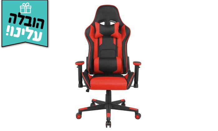 """4 ד""""ר גב - כיסא גיימינג דגם XP1 - משלוח חינם"""