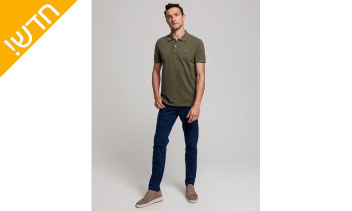 5 חולצת פולו ירוקה לגבר GANT