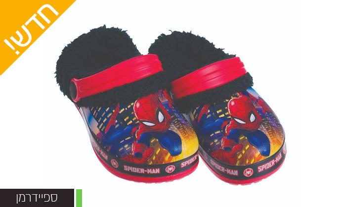 4 זוג כפכפי גומי ופרווה ממותגים ANONIMA לילדים וילדות