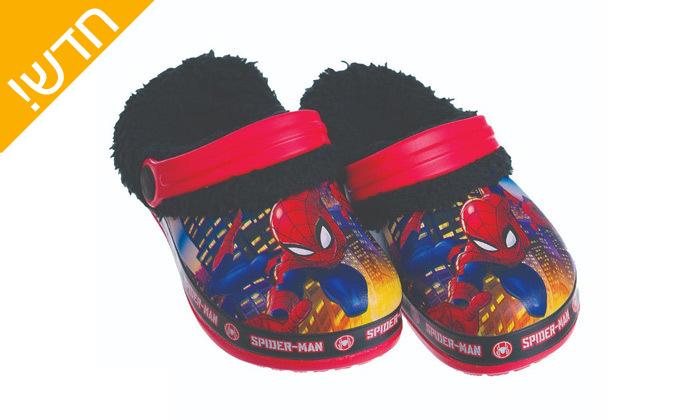 6 זוג כפכפי גומי ופרווה ממותגים ANONIMA לילדים וילדות