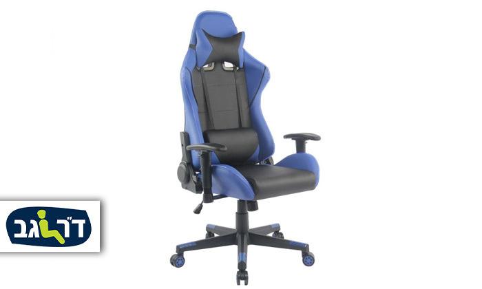 """2 ד""""ר גב: כיסא גיימינג דגם XP2 עם תאורת LED"""