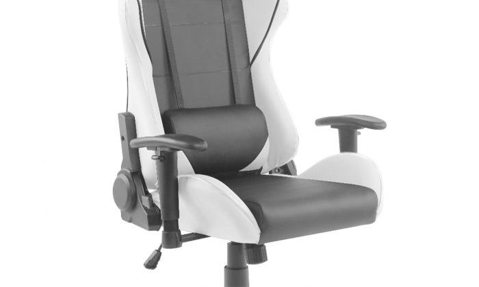 """3 ד""""ר גב: כיסא גיימינג דגם XP2 עם תאורת LED"""