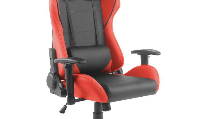 """4 ד""""ר גב: כיסא גיימינג דגם XP2 עם תאורת LED"""