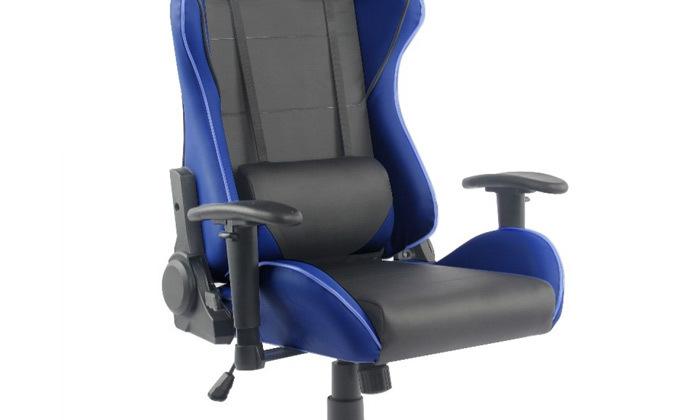 """5 ד""""ר גב: כיסא גיימינג דגם XP2 עם תאורת LED"""