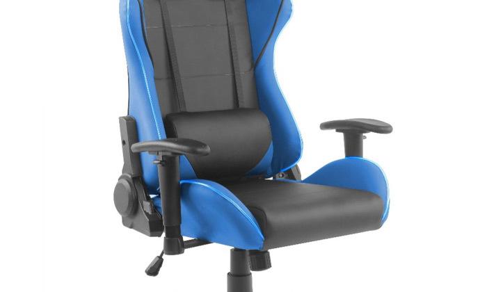 """6 ד""""ר גב: כיסא גיימינג דגם XP2 עם תאורת LED"""
