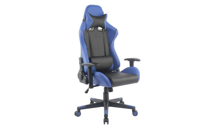 """7 ד""""ר גב: כיסא גיימינג דגם XP2 עם תאורת LED"""
