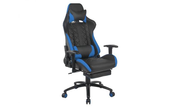"""3 ד""""ר גב: כיסא גיימינג דגם XP4 עם הדום נשלף"""