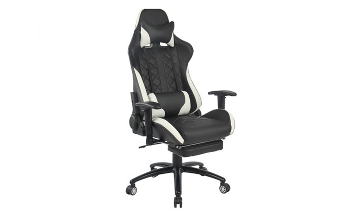 """4 ד""""ר גב: כיסא גיימינג דגם XP4 עם הדום נשלף"""