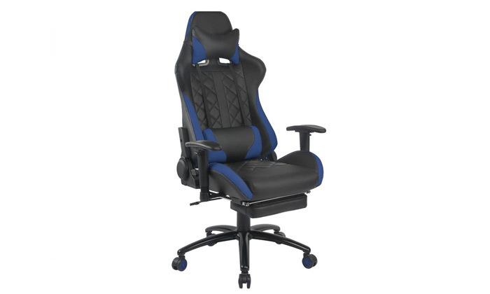 """5 ד""""ר גב: כיסא גיימינג דגם XP4 עם הדום נשלף"""