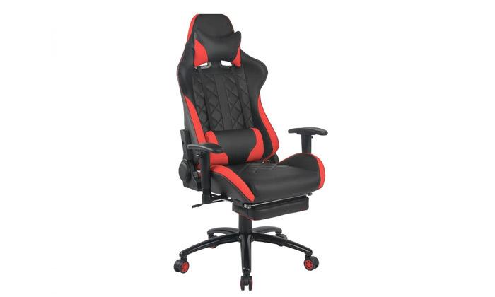 """6 ד""""ר גב: כיסא גיימינג דגם XP4 עם הדום נשלף"""