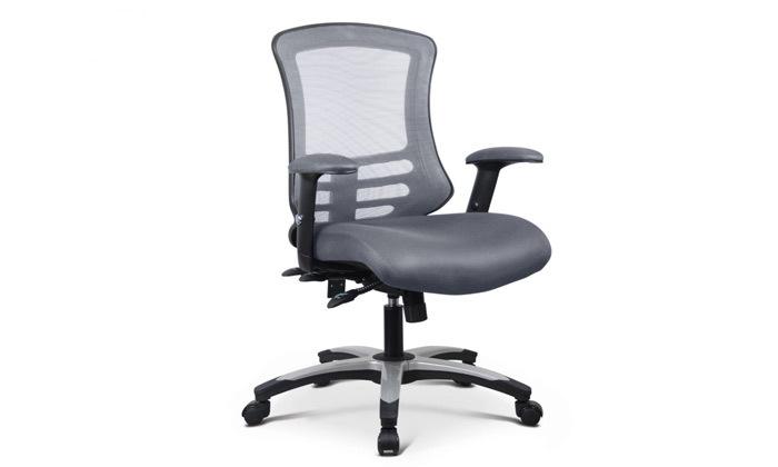 """3 כיסא משרדי ד""""ר גב דגם FLEX"""