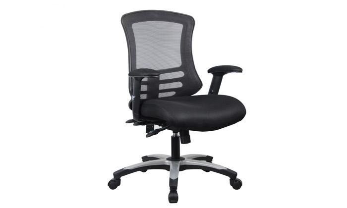 """5 כיסא משרדי ד""""ר גב דגם FLEX"""