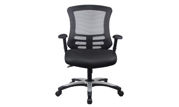 """8 כיסא משרדי ד""""ר גב דגם FLEX"""