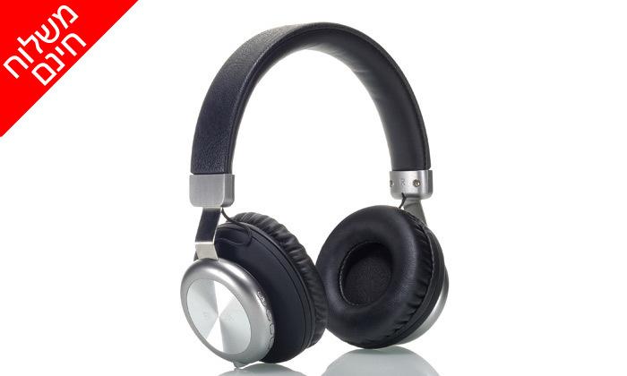 2 אוזניות אלחוטיותBLACK - משלוח חינם