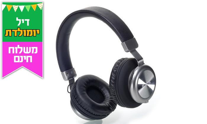 3 אוזניות אלחוטיותBLACK - משלוח חינם
