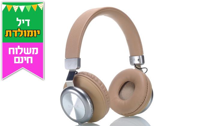 5 אוזניות אלחוטיותBLACK - משלוח חינם