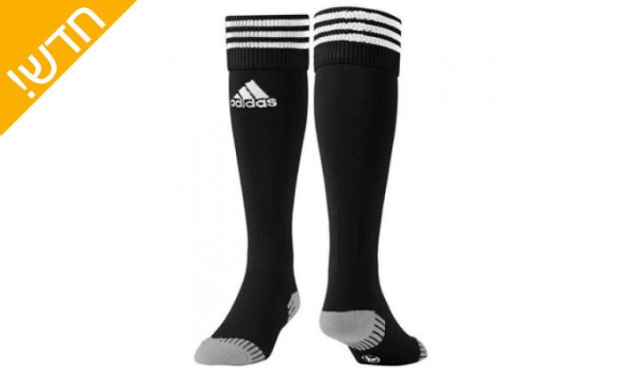 2 זוג גרבי כדורגל לגברים אדידס adidas