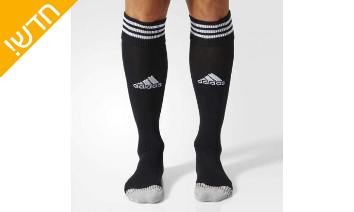5 זוג גרבי כדורגל לגברים אדידס adidas