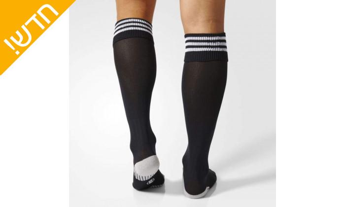 3 זוג גרבי כדורגל לגברים אדידס adidas