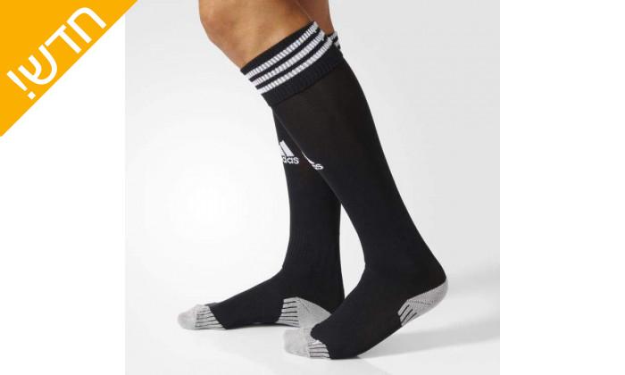 4 זוג גרבי כדורגל לגברים אדידס adidas
