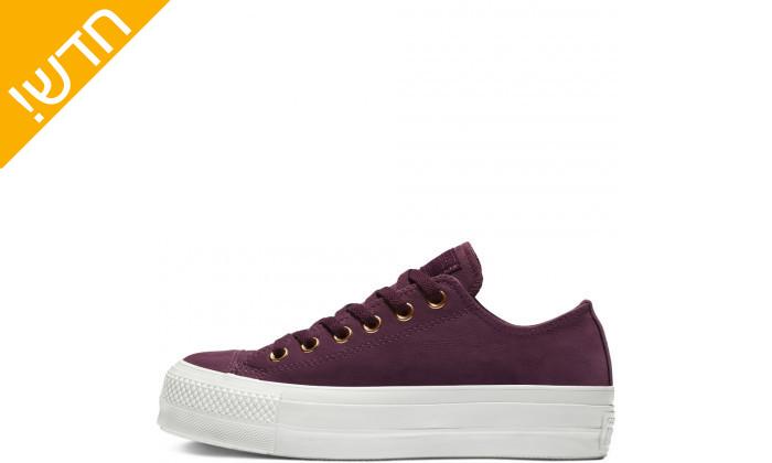 3 נעלי סניקרס פלטפורמה ALL STAR לנשים CONVERSE
