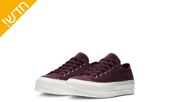 4 נעלי סניקרס פלטפורמה ALL STAR לנשים CONVERSE