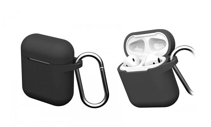 3 אוזניות AirPods II שלApple, כוללקייס GEAR 4
