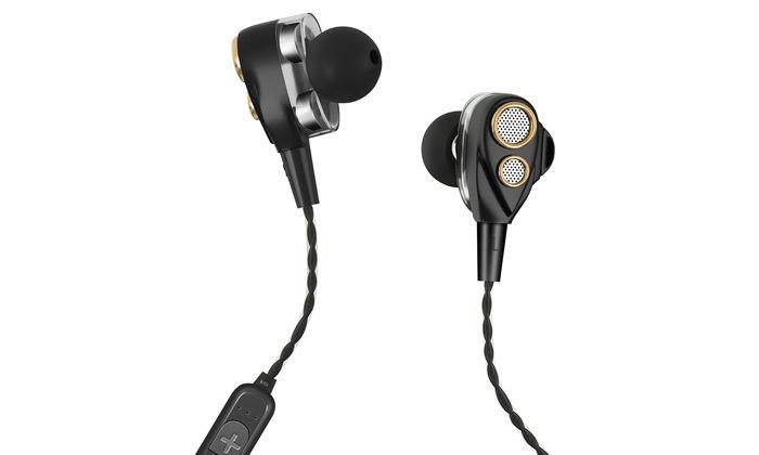 4 אוזניות ספורט אלחוטיות Bluetooth