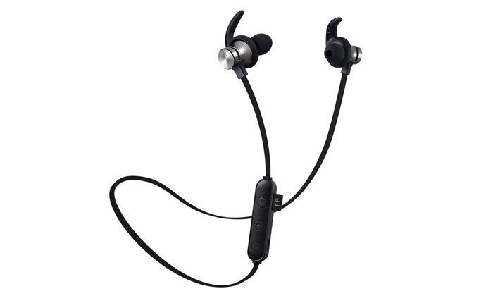 2 אוזניות ספורט אלחוטיות Bluetooth