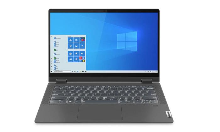 """6 מחשב נייד מעודפים Lenovo דגם FLEX 14 עם מסך מגע """"14, זיכרון 8/16GB ומעבד i5, כולל תיק צד ועכבר"""