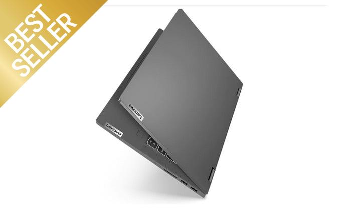 """4 מחשב נייד מעודפים Lenovo דגם FLEX 14 עם מסך מגע """"14, זיכרון 8GB ומעבד i5"""