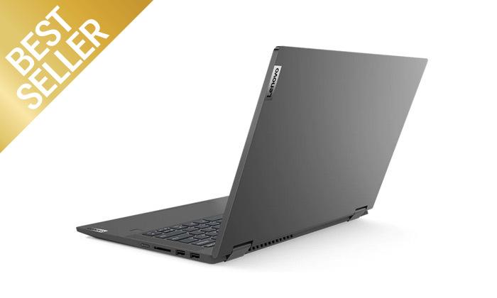 """5 מחשב נייד מעודפים Lenovo דגם FLEX 14 עם מסך מגע """"14, זיכרון 8GB ומעבד i5"""