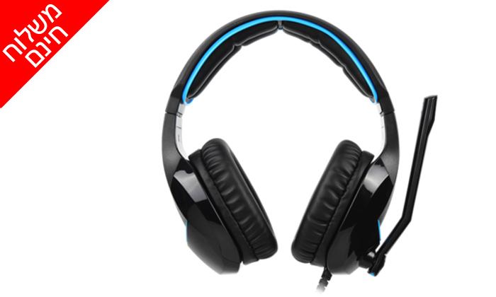 3 אוזניות גיימינג SADES דגם Wand SA-914 - משלוח חינם